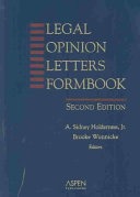 Legal Opinion Letters Formbook