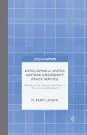 Developing a United Nations Emergency Peace Service Pdf/ePub eBook