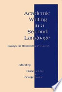 Academic Writing In A Second Language Book PDF