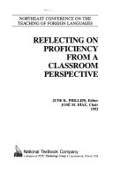 Reflecting On Proficiency From A Classroom Perspective