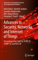 Advances in Security  Networks  and Internet of Things