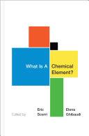 What Is A Chemical Element? [Pdf/ePub] eBook