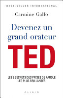 Devenez un grand orateur TED Pdf/ePub eBook