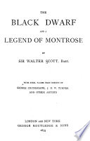 Waverley Novels The Black Dwarf And A Legend Of Montrose