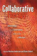 Collaborative Therapy Pdf/ePub eBook