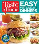 Taste of Home Easy Weeknight Dinners