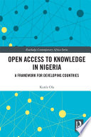Open Access to Knowledge in Nigeria Book