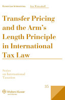 Transfer Pricing and the Arm s Length Principle in International Tax Law