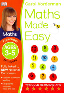 Maths Made Easy Numbers Preschool Ages 3 5