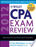 Wiley CPA Exam Review 2012  Business Environment and Concepts Book