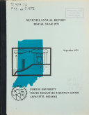 Annual Report Fiscal Year