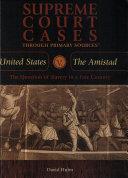 United States V. the Amistad ebook