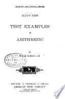 Ray s New Test Examples in Arithmetic