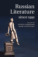Pdf Russian Literature since 1991
