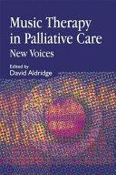 Music Therapy in Palliative Care