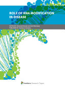 Role  of  RNA  Modification  in  Disease