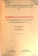 Paris und Vienna