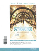 Calculus and Its Applications, Books a la Carte Plus Mymathlab Access Card Package