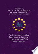 The Assessment List for Trustworthy Artificial Intelligence  ALTAI