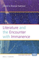 Literature and the Encounter with Immanence
