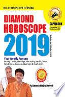 DIAMOND HOROSCOPE CAPRICORN 2019