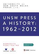 UNSW Press a History  1962   2012