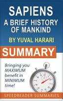 Summary Of Sapiens By Yuval Noah Harari