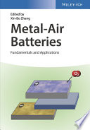 Metal Air Batteries Book PDF