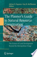 The Planner S Guide To Natural Resource Conservation