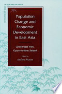 Population Change and Economic Development in East Asia