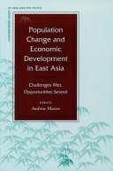Pdf Population Change and Economic Development in East Asia