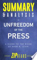 Summary   Analysis of Unfreedom of the Press