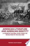 American Literature and American Identity