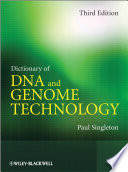Dictionary of DNA and Genome Technology Book