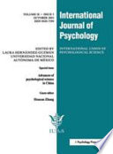 Advances of Psychological Science in China