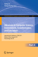 Advances in Computer Science  Environment  Ecoinformatics  and Education  Part IV