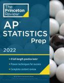 Princeton Review AP Statistics Prep 2022 Book