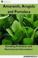 Amaranth, Arugula and Portulaca ebook