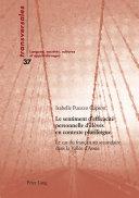 Le sentiment d'efficacité personnelle d'élèves en contexte plurilingue. Le cas du français au secondaire dans la Vallée d'Aoste [Pdf/ePub] eBook