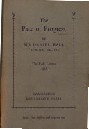 Pdf The Pace of Progress