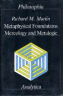 Metaphysical Foundations
