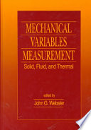 Mechanical Variables Measurement   Solid  Fluid  and Thermal