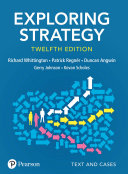 Pdf Exploring Strategy, Text and Cases, 12th Edition Telecharger