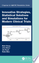 Innovative Strategies Statistical Solutions And Simulations For Modern Clinical Trials Book PDF