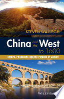 China and the West to 1600 Book PDF