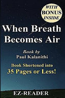 Summary of When Breath Becomes Air Book PDF