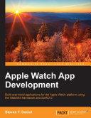 Apple Watch App Development [Pdf/ePub] eBook