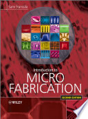 Introduction to Microfabrication Book