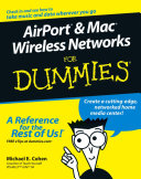 Airport And Mac Wireless Networks For Dummies