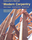Instructor's Manual for Modern Carpentry